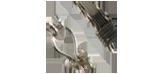 Silvertrådsarbete armband