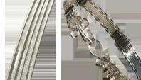Silver-Filled silvertråd