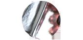 Örhängen på nytt sätt med silverlera