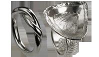 PMC silverhalt 950 Högre silverhalt än Sterling och starkt.