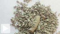 Återvinn torr lera till fräsch