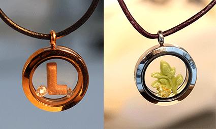 Medaljonger-Formglas