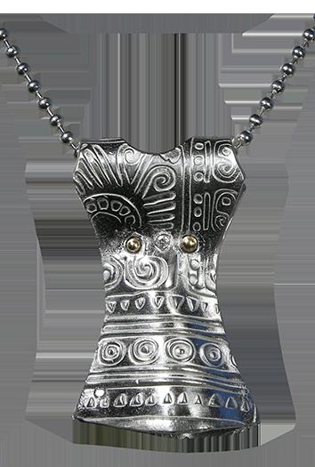 Klänning-med-brons