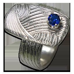 Ring-blå-sten